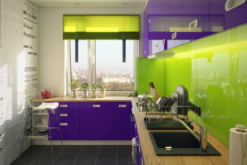 Tęcza kolorów w kuchni, fot. Laveo