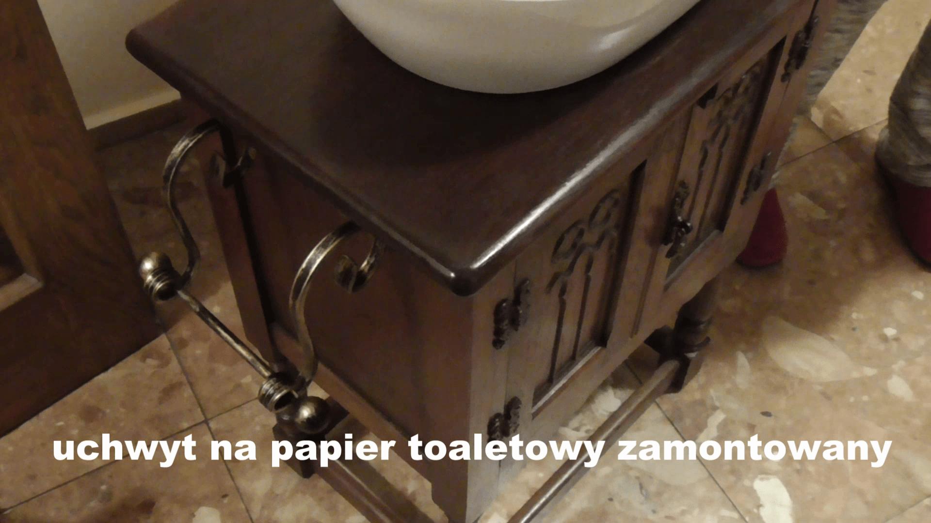 Jak zamontować uchwyt na papier toaletowy