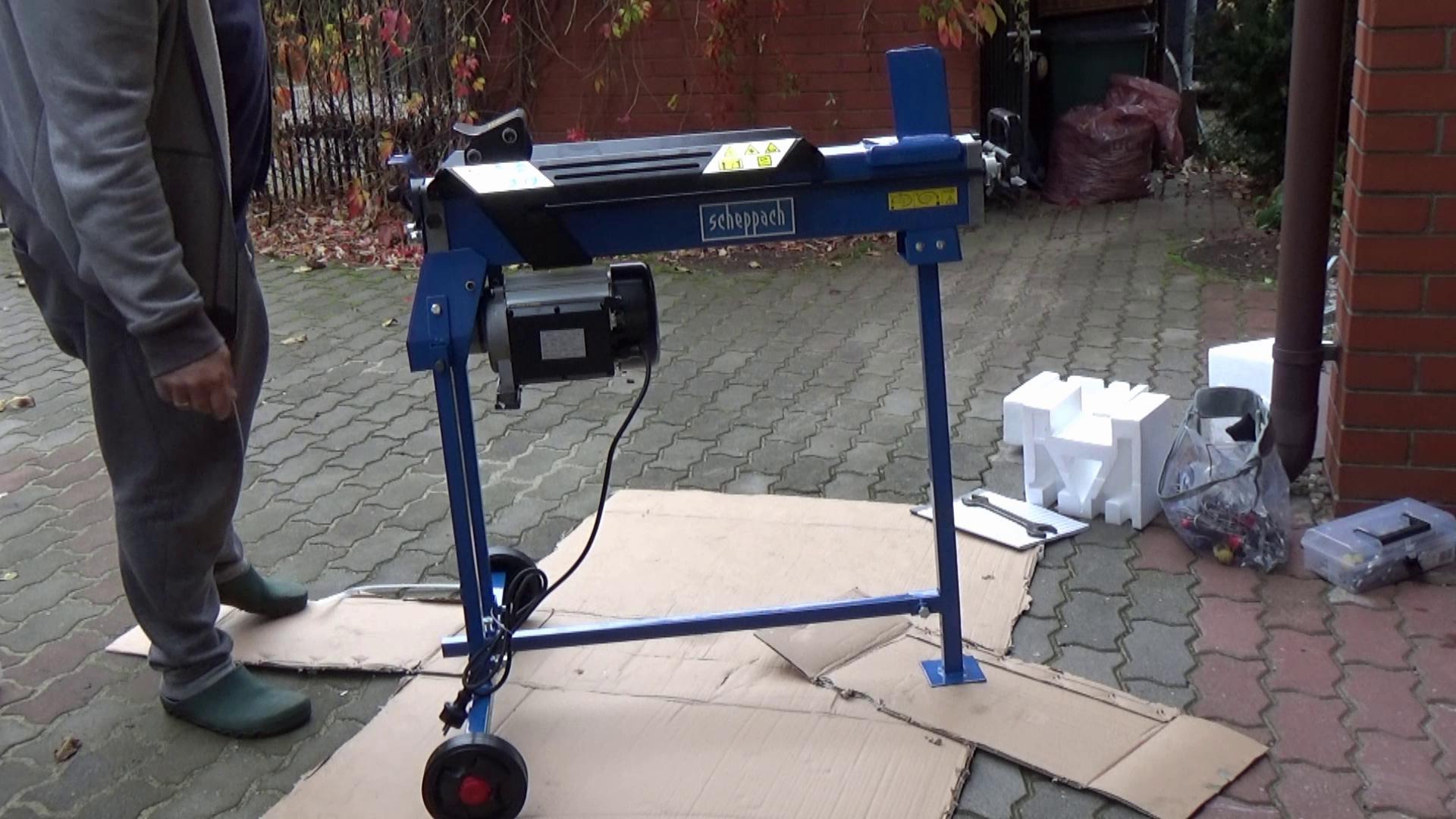 hydrauliczna łuparka do drewna