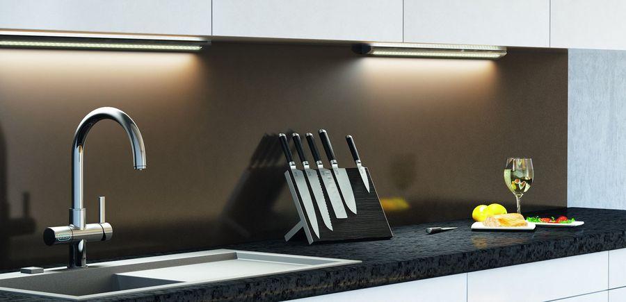 oświetlenie LED kuchnia