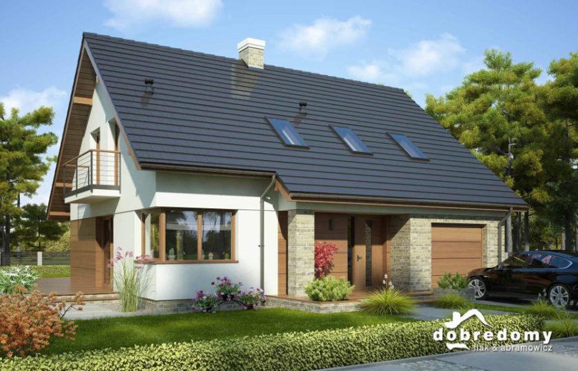 dobre domy okna dachowe