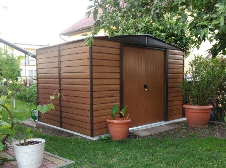 metalowy domek ogrodowy Woodridge marki Arrow