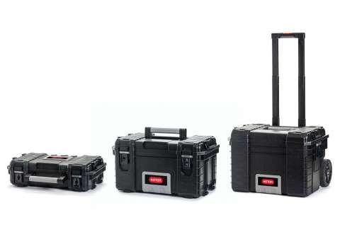 różne modele skrzynek narzędziowych marki Keter