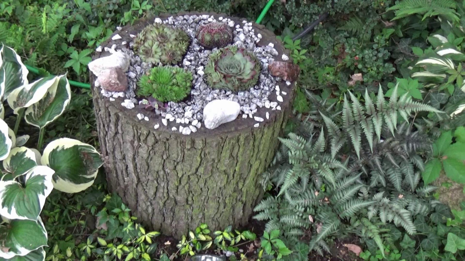 drewniana donica ogrodowa