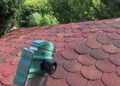 Gont papowy idealny na pokrycie dachu altanki ogrodowej