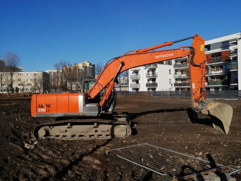Maszyny budowlane Koparka