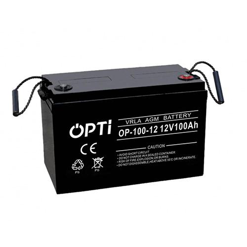 Akumulator OPTI AGM 12V 100Ah | OP100-12