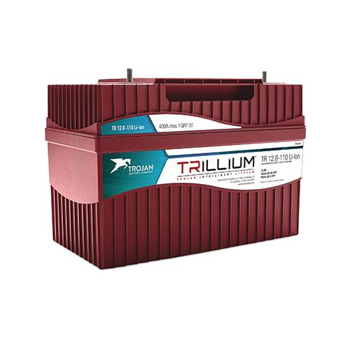 Trojan Trillium Lithium 12V 110Ah Li-Ion TR12.8-110