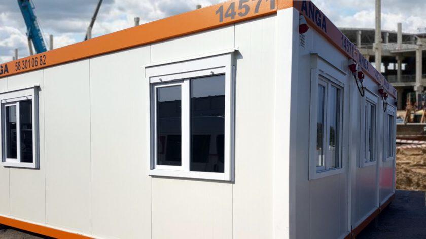 kontenery biurowe na budowie
